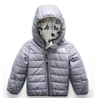 The North Face Infant Reversible Perrito Jacket Two Design Color Print Baby Toddler Boy Girl Winter Fall Spring Warm Snow Cold Weather Polyester Performance Brand Active Outdoors Outside Season