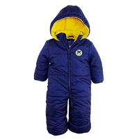 iXtreme Expedition Puffer Winter Snowsuit Stroller Pram Bunting Cold Snow Weather Toes Infant Toddler Boy Girl Polyester Zipper Closure Machine Wash Fleece Lined Fold Over Hands Feet Extra Cozy Comfort