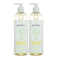 Puracy Natural Baby Shampoo Body Wash Pack Essential Oil Botanical Extract Sensitive Skin Tear Free Soap Doctor Superior Result Nourish Citrus Grapefruit Ezcema Cradle Cap Sea Salt Clean Bubble