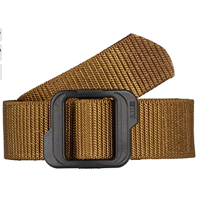 5.11 Tactical Double Duty TDU Belt No Metal Leather Hassle Heavy Duty Nylon Coyote Green Color Non Metallic Air Travel Airport Security Safe Stability Comfort Practical Versatility Efficient Design Gift