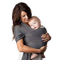 EmoPeak Baby Wrap Carrier Infant Toddler Mulit-functional Versatile Product Ring Sling Healthy Connect Bond Carry Feel Comfort Closeness Happy Breastfeeding Nursing Discreet Tummy Tight Postpartum Belly Band
