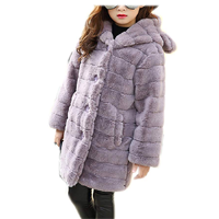 Luodemiss Long Faux Fur Coat Jacket Cool Warm Soft Comfy Comfortable Thick Fake Fox Button Hooded Sweet Cute Length Fashion Contemporary Luxury Celebration Wedding Birthday Gift Christmas Hanukkah Winter Fall Spring Snow Cold Season Design