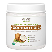 Viva Naturals Organic Extra Virgin Coconut Oil Versatile Product Bathroom Bedroom Kitchen MCT Weight Management Control Metabolism Pure Natural Silky Texture Aroma Tropical Skin Hair Cooking Delicious Healthy Meal Recipe Asian Salad Fry Desert Island Paradise Nutrient Cold Pressed Fungus Fighter Baking Unrefined Immunity Digestion
